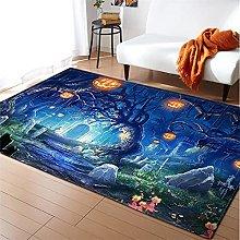 Rugs Living Room Large 160x230cm Blue Fluffy