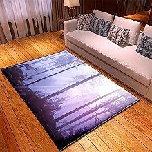 Rugs Living Room Large 160x230cm Purple Tree