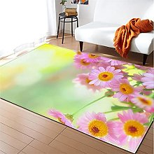 Rugs Living Room Large 160x230cm Red Fluffy Shaggy