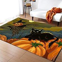 Rugs Living Room Large 160x230cm Yellow Pumpkin