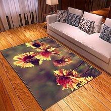 Rugs Living Room Large -50x100cm Brown