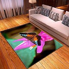 Rugs Living Room Large -50x100cm Green Purple