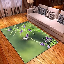 Rugs Living Room Large -50x100cm Green