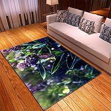Rugs Living Room Large -70x120cm Purple Green