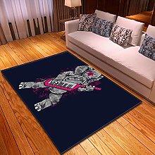 Rugs Living Room Large 80x120cm Grey Elephant