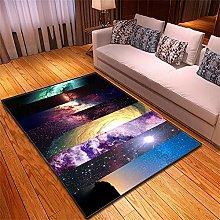 Rugs Living Room Large Color Cloud Pattern Modern