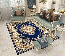 Rugs Living Room Large European Blue Beige 3D
