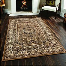 Rugs Living Room Large - Floral Patterned Low Pile