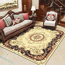 Rugs Living Room Large Yellow Purple European