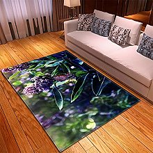 Rugs Living Room Small size -40x60cm Purple Green