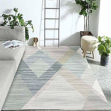 Rugs sofa for living room rug Blue green gray