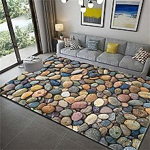 Rugs Stone Printed - 007 Printed Soft Carpets