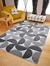 Rugs Supermarket.com LTD Modern Sahara Grey Silver
