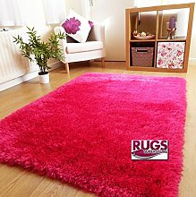Rugs Superstore NEW PINK THICK SILKY SOFT HAND
