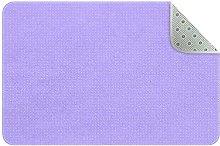 Rugs Washable, Lilac Dots Pattern Non Skid Carpet