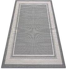 Rugsx - Carpet SISAL SISALO Frame 2891 anthracite