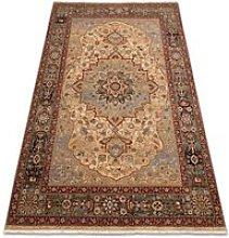 Rugsx - Carpet Wool KESHAN fringe, Rosette