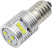 Ruiandsion 1pcs E10 Base LED Upgrade Bulb 4.5V 1W