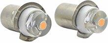 Ruiandsion P13.5S Torch Light Bulb 3-18V 0.5W