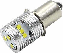 Ruiandsion Upgrade LED Flashlight Bulb P13.5S Base