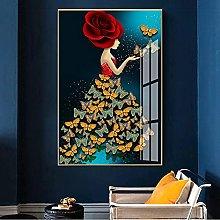 RuiChuangKeJi Canvas Artwork 11.8x19.7in(30x50cm)