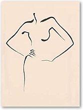 RuiChuangKeJi Canvas Wall Art 27.6x35.4in(70x90cm)