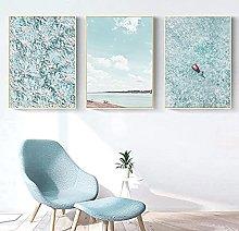 RuiChuangKeJi Print on canvas 3 piece