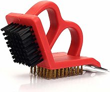 ruihong BBQ grill tool grill net cleaning brush