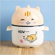 Ruimi JISHIYU-Q Cat Steamed Egg Cup with Lid