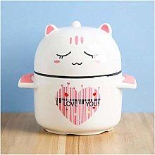 Ruimi YANGYUAN Kitten Soup Bowl with Lid Cat