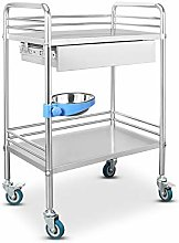 RUIVE Medical Trolley Cart Dental Lab Cart,