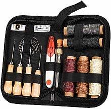 RUIYIQI Leather Craft Tool Kit 26 PCS Hand