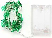 Ruizhxc Decorative lights Green Cactus Shape