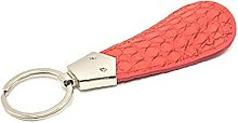 Ruluti Portable Leather Shoe Horn Keychain Shoe