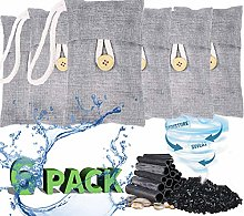 RUN HELIX Bamboo Charcoal Air Purifying Bag, 6
