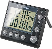 Runleader Digital Dual Kitchen Clock, Cooking