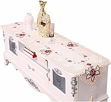 Runner for Table Embroidery Flower Table Runners