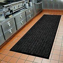 Runner Rug for Hallway 80 X 300 cm, Black Carpet