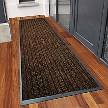 Runner Rug for Hallway 80 X 300 cm, Brown Carpet