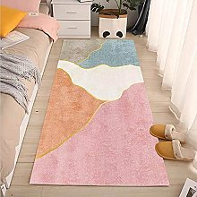 Runner Rug For Hallway,Soft Area Rugs Pink