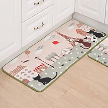 Runner Rug For Hallway,Soft Area Rugs Tower Cat