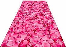 Runner Rug Pink Rose Rug Runner, Carpet Pads for