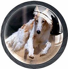 Running Dog Knob Handles Door Knobs Cabinet Pulls