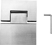 Runtodo Heavy Duty 180 Degree Glass Door Cabinet