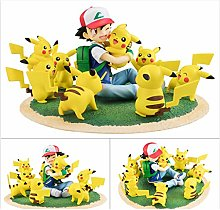 RUNWEI Anime Statue Toy Model Anime Pokemon