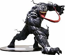 RUNWEI Anime Toy Statue Venom Doll Toy Figure Doll