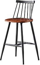 RUNWEI Bar Stools, Dining Chair Kitchen Pub