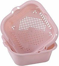 RUNWEI Kitchen Drain Basket Dishes Household