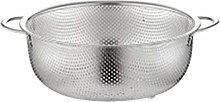 RUNWEI Kitchen Stainless Steel Drain Basket for
