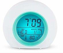 Ruosaren Practical Kids Alarm Clock with Colorful